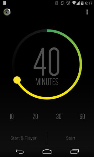 Androidアプリ「SleepTimer Unlock」のスクリーンショット 1枚目