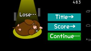 Androidアプリ「Go!Go!Mole」のスクリーンショット 3枚目