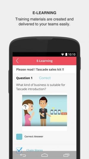 Androidアプリ「Tascade」のスクリーンショット 3枚目