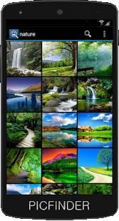 Androidアプリ「PICファインダー - 写真の検索」のスクリーンショット 3枚目