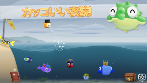 Androidアプリ「Fish Out Of Water!」のスクリーンショット 4枚目