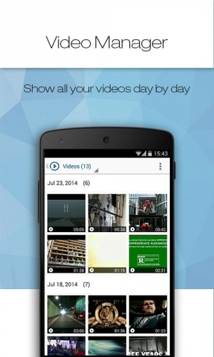 Androidアプリ「Tomi File Manager (Explorer)」のスクリーンショット 4枚目