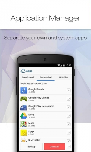 Androidアプリ「Tomi File Manager (Explorer)」のスクリーンショット 5枚目