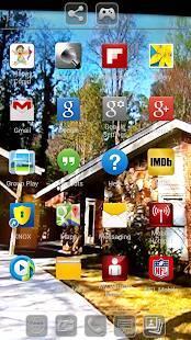 Androidアプリ「透過スクリーンランチャー」のスクリーンショット 1枚目