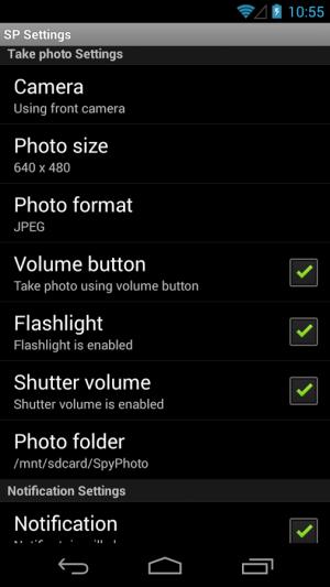 Androidアプリ「Spy Photo - 最高のスパイカメラ」のスクリーンショット 5枚目