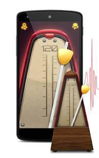 Androidアプリ「メトロノーム - 楽器のテンポ」のスクリーンショット 1枚目