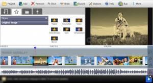 Androidアプリ「VideoPad Video Editor Free」のスクリーンショット 2枚目