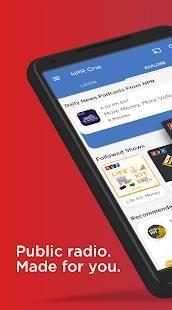 Androidアプリ「NPR One」のスクリーンショット 1枚目