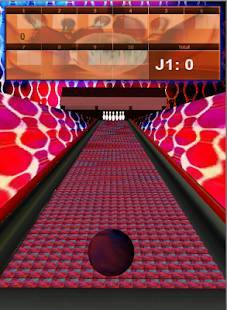 Androidアプリ「Bowling Game 3D」のスクリーンショット 2枚目
