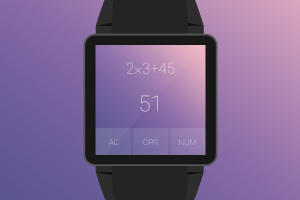 Androidアプリ「Crystal Calculator with Wear」のスクリーンショット 4枚目