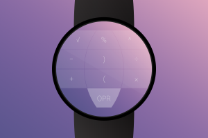 Androidアプリ「Crystal Calculator with Wear」のスクリーンショット 5枚目