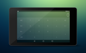 Androidアプリ「Crystal Calculator with Wear」のスクリーンショット 2枚目