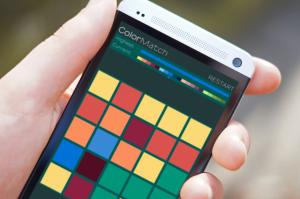 Androidアプリ「2048 カラーマッチ」のスクリーンショット 2枚目