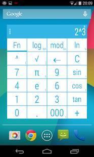 Androidアプリ「電卓ウィジェットテーマ  CALCULATOR PRO」のスクリーンショット 3枚目