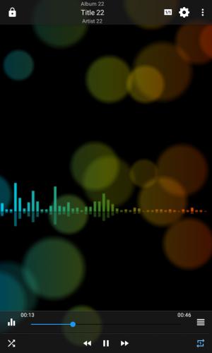 Androidアプリ「EQ メディア・プレーヤー PRO」のスクリーンショット 3枚目