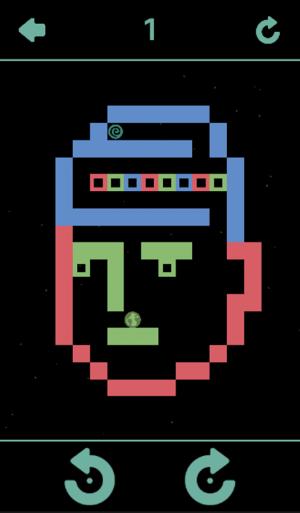 Androidアプリ「重力迷路」のスクリーンショット 5枚目