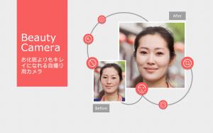 Androidアプリ「Beauty Camera」のスクリーンショット 1枚目