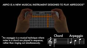 Androidアプリ「ARPIO a new musical instrument」のスクリーンショット 2枚目