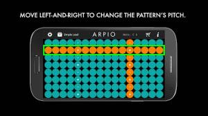 Androidアプリ「ARPIO a new musical instrument」のスクリーンショット 3枚目