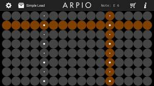 Androidアプリ「ARPIO a new musical instrument」のスクリーンショット 1枚目