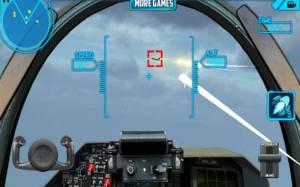 Androidアプリ「スカイパイロット3Dストライク戦闘機」のスクリーンショット 3枚目