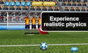 Androidアプリ「Soccer Free Kicks」のスクリーンショット 3枚目
