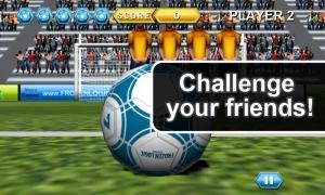 Androidアプリ「Soccer Free Kicks」のスクリーンショット 1枚目