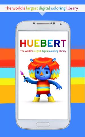 Androidアプリ「Huebert: 楽しい塗り絵」のスクリーンショット 1枚目