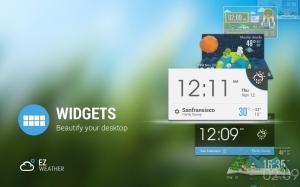 Androidアプリ「桜&富士 - 日本天気時計&天気予報のウィジェット」のスクリーンショット 5枚目