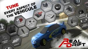 Androidアプリ「Real Drift Car Racing」のスクリーンショット 4枚目