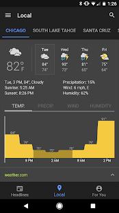 Androidアプリ「Google ニュースと天気」のスクリーンショット 3枚目