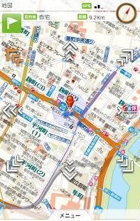 Androidアプリ「震災時帰宅支援マップ首都圏版 - オフラインで使える」のスクリーンショット 1枚目