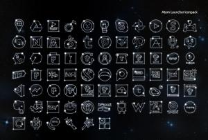 Androidアプリ「星座 アトム アイコンパック」のスクリーンショット 2枚目