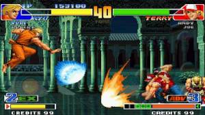 Androidアプリ「THE KING OF FIGHTERS '98」のスクリーンショット 4枚目