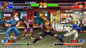 Androidアプリ「THE KING OF FIGHTERS '98」のスクリーンショット 3枚目