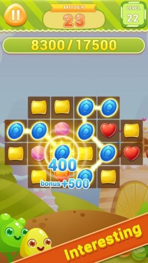 Androidアプリ「キャンディダッシュ - Candy Dish」のスクリーンショット 2枚目