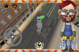 Androidアプリ「道路工事の労働者」のスクリーンショット 3枚目