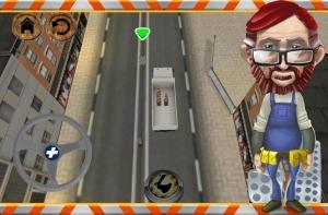 Androidアプリ「道路工事の労働者」のスクリーンショット 1枚目