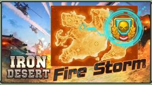 Androidアプリ「Iron Desert - Fire Storm」のスクリーンショット 2枚目