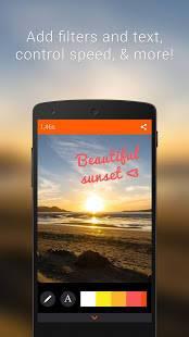 Androidアプリ「Gif Me! Camera - GIF maker」のスクリーンショット 3枚目
