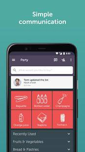 Androidアプリ「Bring! Grocery Shopping List」のスクリーンショット 4枚目