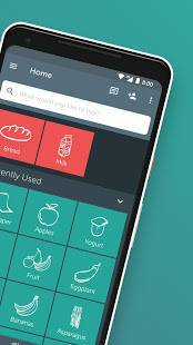 Androidアプリ「Bring! Grocery Shopping List」のスクリーンショット 2枚目