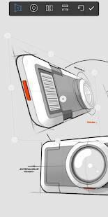 Androidアプリ「Autodesk SketchBook」のスクリーンショット 5枚目