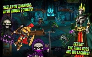 Androidアプリ「Skull Legends」のスクリーンショット 5枚目