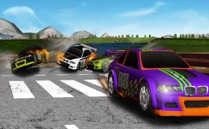 Androidアプリ「レーシングカー」のスクリーンショット 2枚目