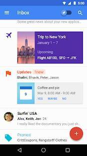 Androidアプリ「Inbox by Gmail」のスクリーンショット 2枚目