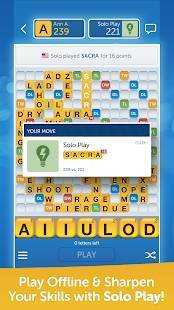 Androidアプリ「Words With Friends – Play Free」のスクリーンショット 4枚目