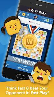 Androidアプリ「Words With Friends – Play Free」のスクリーンショット 5枚目