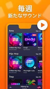 Androidアプリ「Drum Pad Machine - ビートメーカー」のスクリーンショット 2枚目
