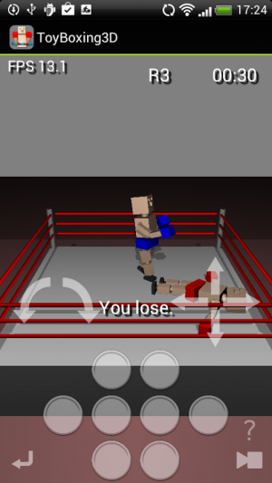 Androidアプリ「Toy Boxing 3D」のスクリーンショット 5枚目